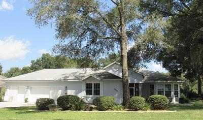 Dunnellon Single Family Home For Sale: 19554 SW 94th Place