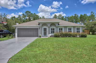 Ocala Waterway Single Family Home For Sale: 4015 SW 108th Lane