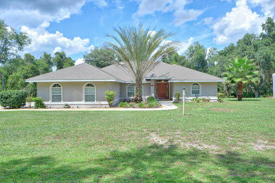 Silver Springs Single Family Home For Sale: 17825 SE 28th Lane Road