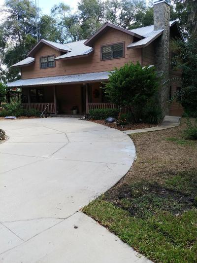 Citrus County Single Family Home For Sale: 11553 N Hume Point