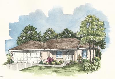 Ocala Single Family Home For Sale: 7285 Hemlock Loop