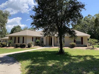 Levy County Single Family Home For Sale: 21050 NE 68th Lane