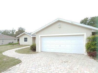 Ocala Single Family Home For Sale: 155 Pecan Drive
