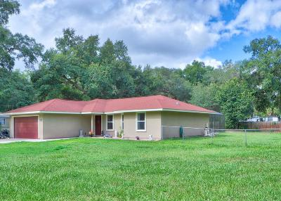 Silver Springs Single Family Home For Sale: 2080 SE 172nd Avenue