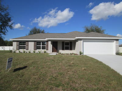 Marion Oaks North, Marion Oaks Rnc, Marion Oaks South Single Family Home For Sale: 6563 SW 129th Lane