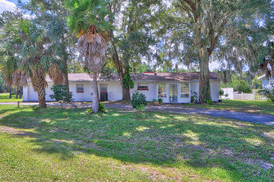 Summerfield Single Family Home For Sale: 10700 SE Timucuan Road