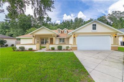Summerfield Single Family Home For Sale: 8465 SE 156th Place