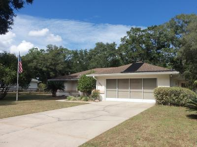Dunnellon Single Family Home For Sale: 19955 SW 57th Street