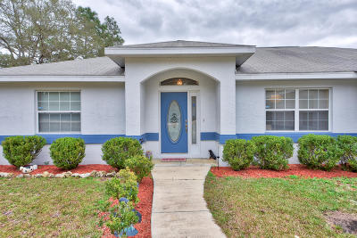 Dunnellon Single Family Home For Sale: 7623 SW 121st Terrace