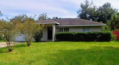 Belleview Single Family Home For Sale: 5512 SE 110th Street