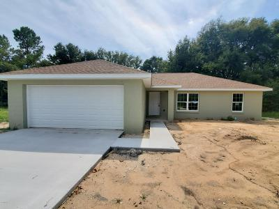 Ocala Single Family Home For Sale: 80 Willow Road