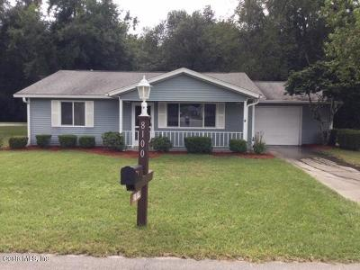 Oak Run, Oak Run Eagles Point Single Family Home For Sale: 8100 SW 109th Lane Road