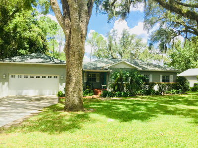 Ocala Single Family Home For Sale: 1747 SE 5th St Street