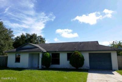 Ocala Single Family Home For Auction: 181 Juniper Run