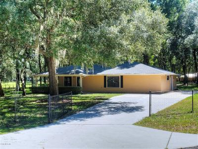 Levy County Single Family Home For Sale: 9431 NW 110th Circle