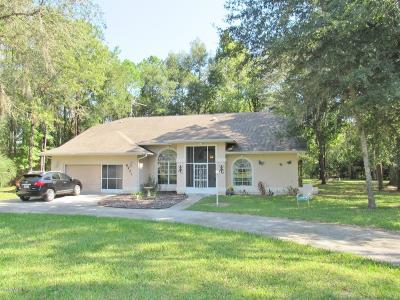 Dunnellon Single Family Home For Sale: 8221 SW 217 Ct Road