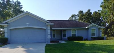 Marion Oaks North, Marion Oaks Rnc, Marion Oaks South Single Family Home For Sale: 7618 SW 132nd Place