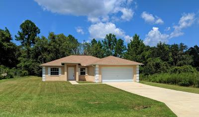 Ocklawaha Single Family Home For Sale: 43 Fisher Pass