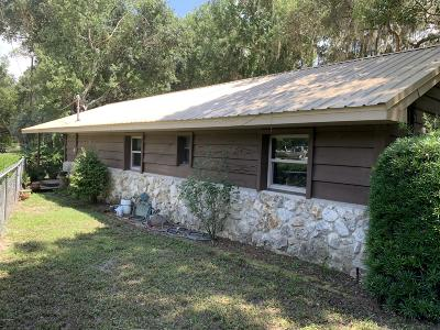 Ocklawaha Single Family Home For Sale: 19270 SE 95th Place