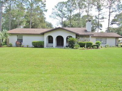 Dunnellon Single Family Home For Sale: 19785 SW 85th Loop