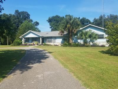 Citra Single Family Home For Sale: 2299 NW 135th Lane