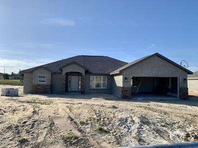 Marion County Single Family Home For Sale: 5012 SW 97th Lane