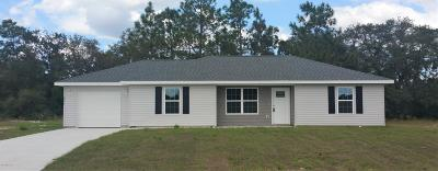 Ocala Single Family Home For Sale: 163 Juniper Loop Circle