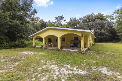 Dunnellon Single Family Home For Sale: 18955 SW 29th Street
