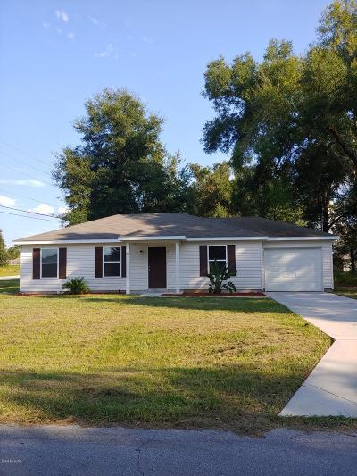 Ocala Single Family Home For Sale: 81 Dogwood Drive Loop