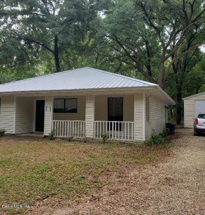 Dunnellon Single Family Home For Sale: 19408 St Benedict Drive