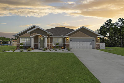Ocala Single Family Home For Sale: 4299 SW 111th Place
