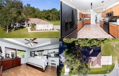 Ocala Single Family Home For Sale: 123 Bahia Trace
