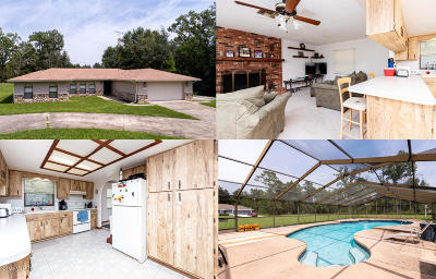 Marion Oaks North, Marion Oaks Rnc, Marion Oaks South Single Family Home For Sale: 15301 SW 44th Terrace