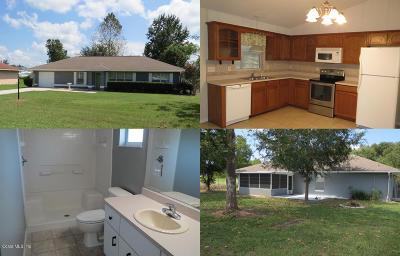 Ocala Single Family Home For Sale: 31 Pine Course