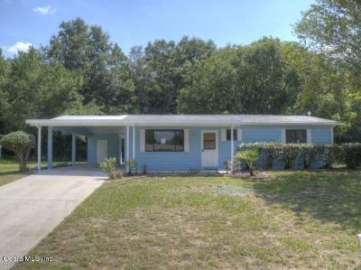 Ocala Single Family Home For Sale: 10043 SW 87th Terrace