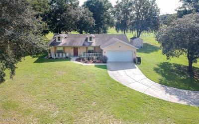 Ocala Single Family Home For Sale: 13299 SW 51st Lane