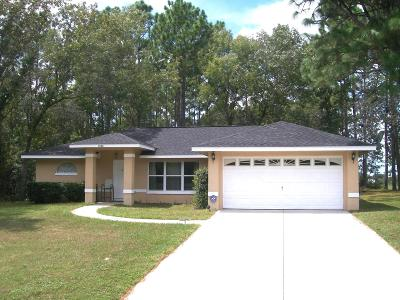 Marion Oaks North, Marion Oaks Rnc, Marion Oaks South Single Family Home For Sale: 15180 SW 50th Court Road
