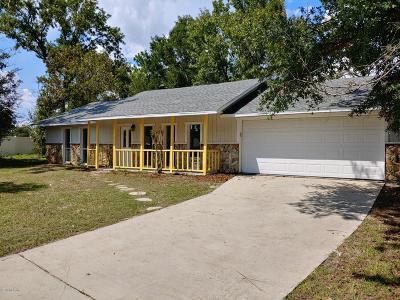 Ocala Single Family Home For Sale: 9 Pecan Run Court