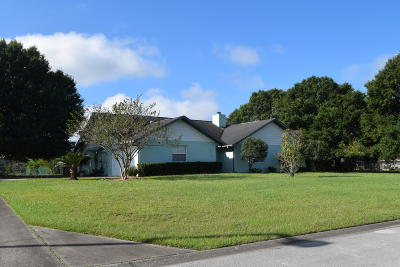 Marion County Single Family Home For Sale: 3430 NE 107th Street Road