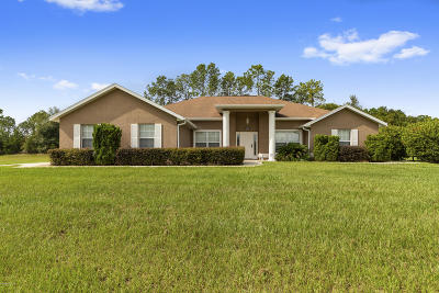 Marion County Single Family Home For Sale: 4628 NE 60th Terrace
