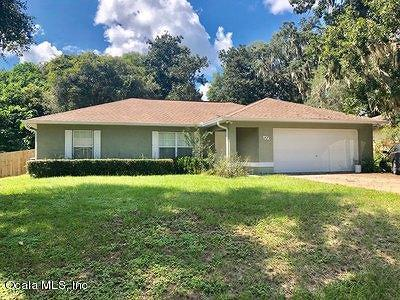 Ocala FL Single Family Home For Sale: $152,000
