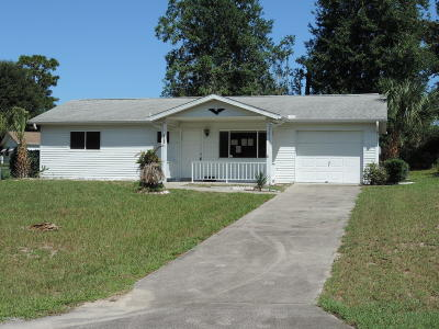 Ocala FL Single Family Home For Sale: $71,000