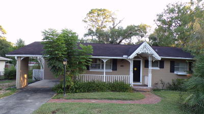Ocala FL Single Family Home For Sale: $76,000
