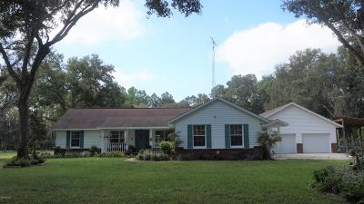Marion County Single Family Home For Sale: 7004 E Hwy 318