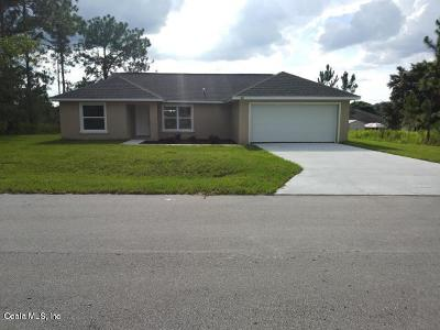 Marion County Single Family Home For Sale: 4338 SE 139th Place