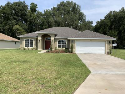 Marion County Single Family Home For Sale: 3767 SE 79th Lane