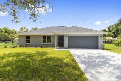 Ocala Single Family Home For Sale: 33 Hemlock Radial Drive