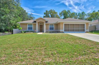 Marion County Single Family Home For Sale: 13 SE Hemlock Circle Trak