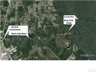 cantonment Residential Lots & Land For Sale: 1600 Becks Lake Rd