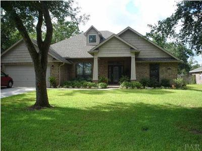 Milton Rental For Rent: 5849 Rolling Green Dr